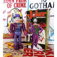 NEW Billiken Shokai mechanical THE JOKER Batmans Nemesis Wind-Up Tin Toy Vintage
