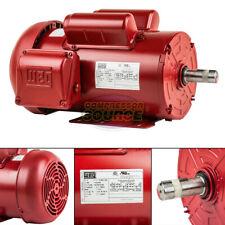 2 Hp Electric Motor 145t Frame 1745 Rpm Single Phase Farm Duty Tefc 115230 Volt