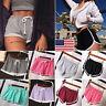 US Summer Ladies Sports Shorts Casual Beach Running Gym Yoga Women Hot Pants New