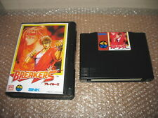 BREAKERS NEO GEO HOME CART AES IMPORT CONVERSION FOR CONSOLE