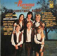 The Partridge Family Christmas Album UK Vinyl LP Very Good Condition Vintage