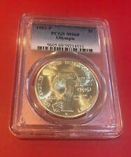 1983-P US Olympic Commemorative BU Silver Dollar - PCGS MS69