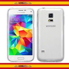 Funda Silicona de Gel TPU Ultra Thin para Samsung Galaxy S5 i9600 Transparente