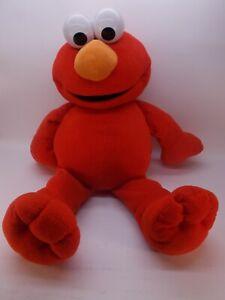 "Elmo Fisher Price Large Size Sesame Street Plush Toy Stuffed Animal 2002 26"""