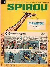 ▬► Spirou Hebdo - n°1418 du 17 Juin 1965 - SANS mini-récit TBE