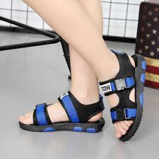 Новый детский, студенческий школьный сандалии детские для мальчиков, повседневные пляжная обувь для лета