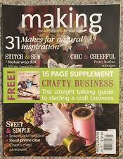 Making Beautiful Crafts For Your Home Sweet & Simple January 2015 FREE SHIPPING!