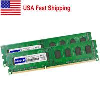 USA 16GB RAM DDR3 PC3-12800 1600MHz DIMM Desktop Memory RAM For AMD CPU Chipset