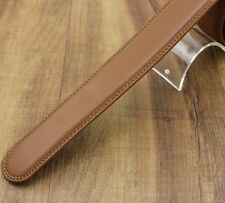 Mens Womens Leather Belt Fashion Casual Luxury Waistline Replacement(No Buckle)