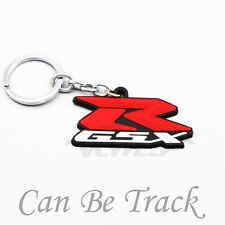 Soft Rubber Motorcycle Key Ring Keychain For Suzuki GSXR600/750/1000 New