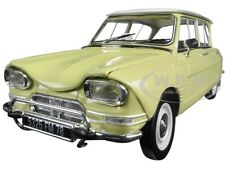 1964 CITROEN AMI 6 NAPLES YELLOW 1/18 DIECAST CAR MODEL NOREV 181535