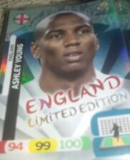 limited edition adrenalyn xl euro 2012 ASHLEY Young  cards new ENGLAND