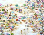 2000s abstract ART BEACH LANDSCAPE PAINTING australia PRINT canvas