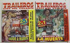 TRAILEROS MEXICAN COMIC, 2 COMICS SET, MEXICO HISTORIETAS