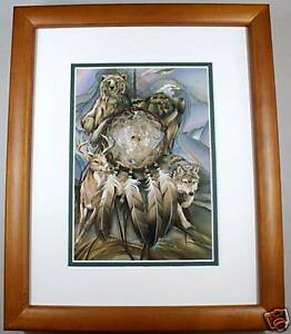 Dream Catcher by Jody Bergsma Wildlife Double Matted 8x10 Framed Print MMS