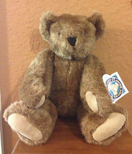 VERMONT TEDDY BEAR WITH ORIGINAL TAGS (COCOA BROWN)