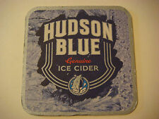 Beer Bar Coaster ~*~ Hudson Blue Genuine Ice Cider ~ Guinness Brewery ~ IRELAND