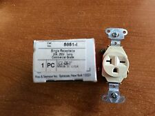Pass and Seymour Single Receptacle 5851 L