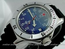 RUSSIAN  VOSTOK AUTO AMPHIBIAN WATCH  FOR DIVING #12289 NEW