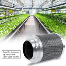 6 Inch Steel Carbon Fresh Air Filters Cigarette Smoke Hydroponics 300 mm Uk