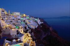 571007 Fira Santorini Greece A4 Photo Print