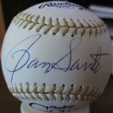Ron Santo Chicago Cubs autographed signed Gold Glove Award Baseball