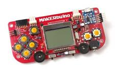 MAKERbuino Build Your Own Video Game Console DIY STEM Learning Kit (NO TOOLS)