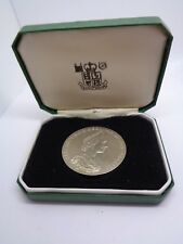SOLID STERLING SILVER NATIONAL TRUST COIN BULLION ROYAL MINT PETER JAMES COLLETT