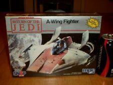[STAR WARS] A-WING FIGHTER, [SNAP TOGETHER] PLASTIC MODEL KIT, VINTAGE #1983 yr.