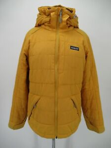 M1671 VTG Women's Patagonia Floral-Lined Insulated Hooded Jacket Size M