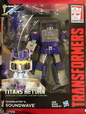 Soundwave Transformers & Robot Action Figures Titans Return
