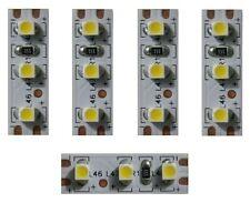 S355 - 5 Pièce MINI LED éclairage domestique 2,5cm BLANC Maisons avec 3 LEDs