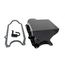 86-02 SBC Chevy Black 7qt Drag Style Oil Pan 1 Pc Main 350 W/ STD. Pickup Gasket