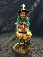 "Vintage Royal Doulton Figurine ""The Mask Seller"" - Retired #6 - 19"