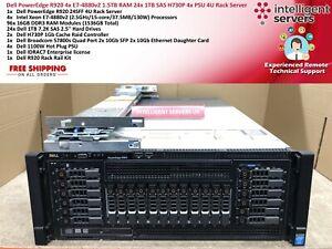 Dell PowerEdge R920 4x E7-4880v2 1.5TB RAM H730P 24x 1TB 4xPSU 4U Rack Server