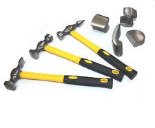 7pc Fiberglass Auto Body Repair Tools Fender Hammer Dolly Dent Restore Kit