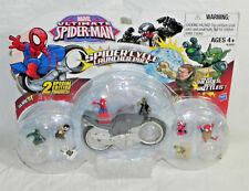 Marvel Ultimate Spider-Man Fighter Pods Spider Cycle Launcher Pack  NEW & SEALED