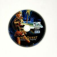 Titan Quest: Immortal Throne (PC, 2007) Disc Only