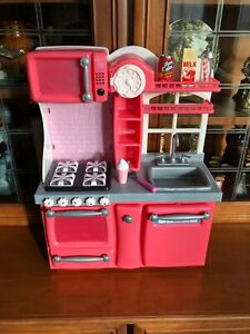 """Our Generation 18"""" Doll Pink Kitchen fits American Girl"""