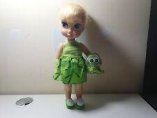 Official Disney Store Peter Pan Tinkerbell Animator Toddler Doll