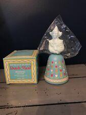Vintage Avon Bells Of The World Dutch Maid Moonwind cologne 4oz New Sealed