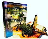 Predators Pop Up Book by Lucio Meera Santoro Rare Sealed Brand New