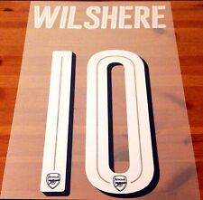 Official 2016-17 Arsenal FA CUP & UCL Home Shirt WILSHERE#10 Name Number Set