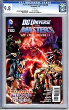 DC vs. Masters of the Universe  #6   CGC   9.8   NMMT   white pages