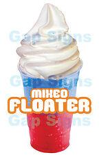 """Mixed Floater Slush Sticker 7"""" NEW"""