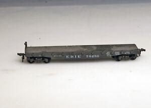 Lionel HO Erie Flat Rail Car 74286