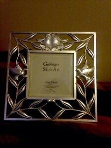 Godinger Silver Plated Art Picture Frame