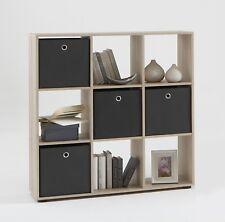 FMD Bookcase Mega 5 104.5 X 108.5 33 Cm Canadian Oak