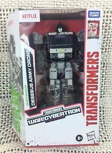 Transformers: Generations War for Cybertron Trilogy Netflix Deseeus Army Drone