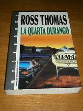Ross Thomas, La quarta Durango, Mondadori Mystbooks - 1^ ed. 1990